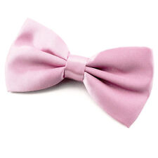 Noeud Papillon pour homme satin rose clair Mariage Soirée Cérémonie Fête cadeau