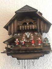 More details for original hand carved black forest cuckoo clock
