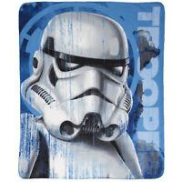 Star Wars Storm Trooper Throw Blue | Disney Star wars Throw Blanket | Picnic Rug