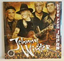 Johnny Winter Live from Japan New Vinyl 2 LPs + Free Download Code