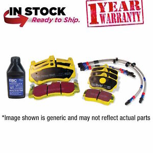 Ford Fiesta MK7 ST Front Rear Brake Pads Line EBC Yellowstuff DP42149R DP41218R