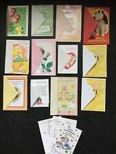 13 Greeting Cards w/ Envelopes + 3 w/o-Ass't-New-Hallmark/Am.Gr.-Free Shipping