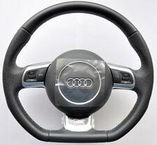 AUDI S Line A3 A4 A5 A6 A8 TT RS Q5 Q7 Flat Bottom Multifunction steering wheel