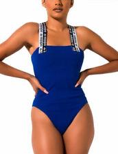 adidas Originals Women's RYV Taping 90s Bodysuit Blue Retro Body S M L XL