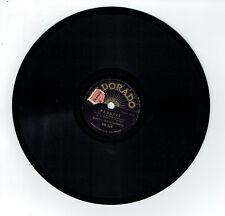 78T 20 cm L'AMOUR EST UN REVE A 2 - PARADIS Disque Phono chant ELDORADO 114 RARE