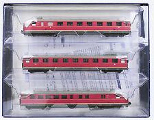 LILIPUT H0 L112601 Diesel-Triebzug VT 06, rot, 3-teilig, DB, Ep. III, OVP, top!