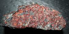 Willemite fluorescent mineral in tephroite, Franklin, NJ