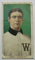 1909 T206 Gabby Street Washington Senators Piedmont 350 Baseball Card RARE ISSUE