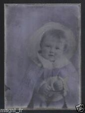 Plaque photo en verre - Bébé  (Ref. 23)