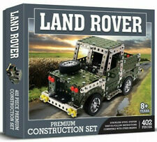 Demand 1261 Land Rover Pickup Drilled Metal Construction Set (Meccano Style)