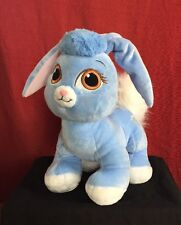 (Build A Bear) Pastel Blue Floppy Eared Creation With Tensel Tail And Big Eyes-