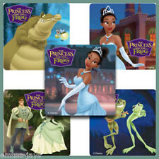 Princess and the Frog Stickers x 5 - Favours, Birthday Supplies - Princess Tiana