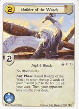 3 x Builder of the Watch AGoT LCG 1.0 Game of Thrones A Sword in the Darkness 53