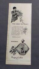 PUBLICITE ANCIENNE ADVERT CLIPPING 191017/ PARFUM TENTATION ROGER & GALLET PARIS