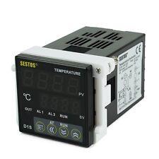 Digital PID Temperature Control Controller D1S-VR-220 + PT100 + 40A SSR