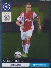N°296 SIEM DE JONG # NETHERLANDS AFC.AJAX CHAMPIONS LEAGUE 2014 STICKER PANINI