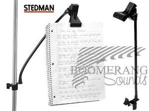 STEDMAN ProClip PC1 Professional Sheet Music Holder NEW