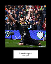 FRANK LAMPARD #1 Signed Photo Print 10x8 Mounted Photo Print - FREE DELIVERY