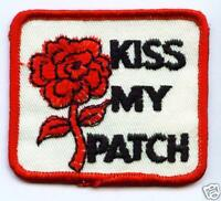 KISS MY PATCH Aufnäher