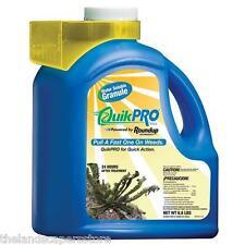 Quik Pro by Roundup / Round Up 6.8 lbs. Glyphosate 73.3%  Diquat 2.9% Quikpro