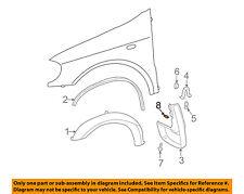MERCEDES OEM 98-03 ML320 Fender-Mud Guard U-nut 0049944545