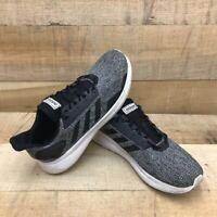 Adidas Mens Duramo 9 Running Shoes Black Melange BB6917 Lace Up Low Top 9.5