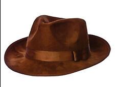 Freddie Krueger Hat Adult Kruger Brown Trilby Felt Halloween Fancy Dress