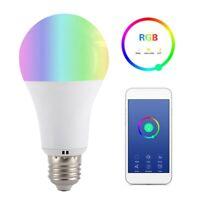 E2718W RGBW WIFI LED Voice Control Smart Light Bulb for Amazon Alexa Google Home