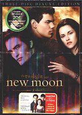 NEW MOON - The twilight saga DVD NUOVO E SIGILLATO, DELUXE EDITION 3 DISCHI