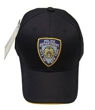 NYPD Baseball Hat New York Police Department Navy One Size Souvenir Gift Mens