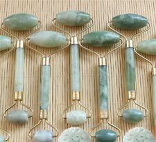 Natural Jape Facial Beauty Tool Jade Roller skincare Face Thin massager Freeship