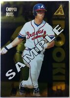 Sample: 1995 95 Pinnacle Zenith Edition Chipper Jones Rookie RC #111, Braves