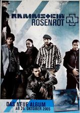 RAMMSTEIN - 2005 - Promoplakat - Rosenrot - Gruppe - Poster