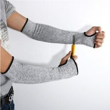 Safety  Anti Cut/Slash/Static Hand Arm Sleeve ProtectProtector Gloves Grey