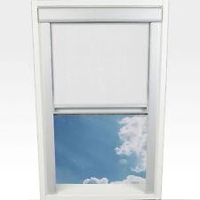 Liedeco Dachfensterrollo M. Seitl. Führungsschiene 38 3 X 54 0 Cm Fb. weiß
