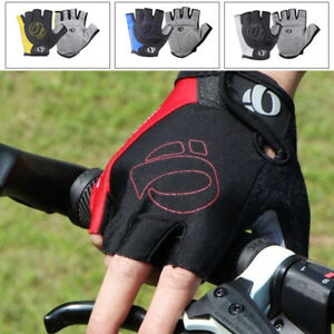 Cycling Gloves New Shockproof MTB Road Bike Riding Half Finger Windproof M-XL UK