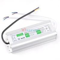 New Outdoor Transformer Power Supply Driver Adapter LED Strip 10W-200W AC-DC 12V