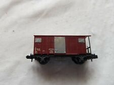 A Model Railway Covered Wagon In N Gauge By Unknown Make Unboxed