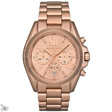 Michael Kors MK5503 Ladies' Watch Chronograph Stainless Steel Colour: Rose Gold
