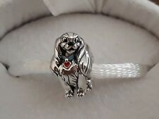 Genuine, CHAMILIA 925 Silver DISNEY Lady & Tramp LADY Bead Charm 2020-1121