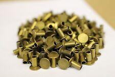 SOLID COPPER ALLOY RIVET 250 PIECES PER BOX U.S. MILITARY SURPLUS Rivet Tubular