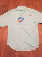 Columbia Tamiami Ii Mens Short-Sleeve Button Up Shirt Fishing Size S Gulf Stream