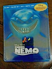 Disney - Finding Nemo 3D - Ltd Blu Ray Steelbook - English - OoP -NTSC