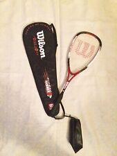 Martillo 160 Wilson Trineo Raqueta Squash caso de gran tamaño