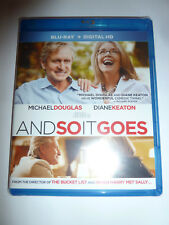 And So It Goes Blu-ray romantic comedy movie Michael Douglas & Diane Keaton NEW!