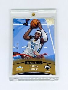 2005-06 Upper Deck Portraits Spectrum Gold #16 Carmelo Anthony /30 Nuggets