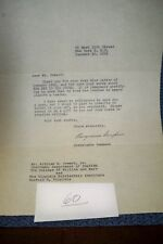 Georgianne Sampson Original Autograph hand Written Letter Signed 1952