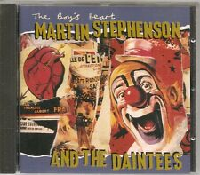 CD ALBUM 12 TITRES--MARTIN STEPHENSON & THE DAINTESS--THE BOY'S HEART--1992