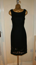 Vintage Moschino Cheap And Chic Iconic Collectors Little Black Dress Sz UK 8-10