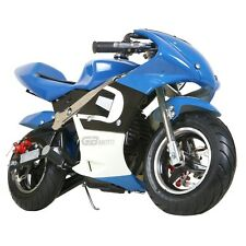 Mini Gas Power Pocket Bike Motorcycle,40CC 4-Stroke Ride on Toys by EPA Approved